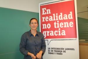 Maika Sánchez, Subdirectora del Plan de Empleo de Cruz Roja