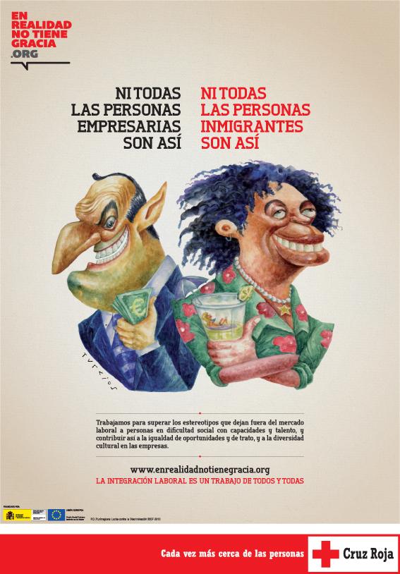 Cartel 'En realidad no tiene gracia 2012'
