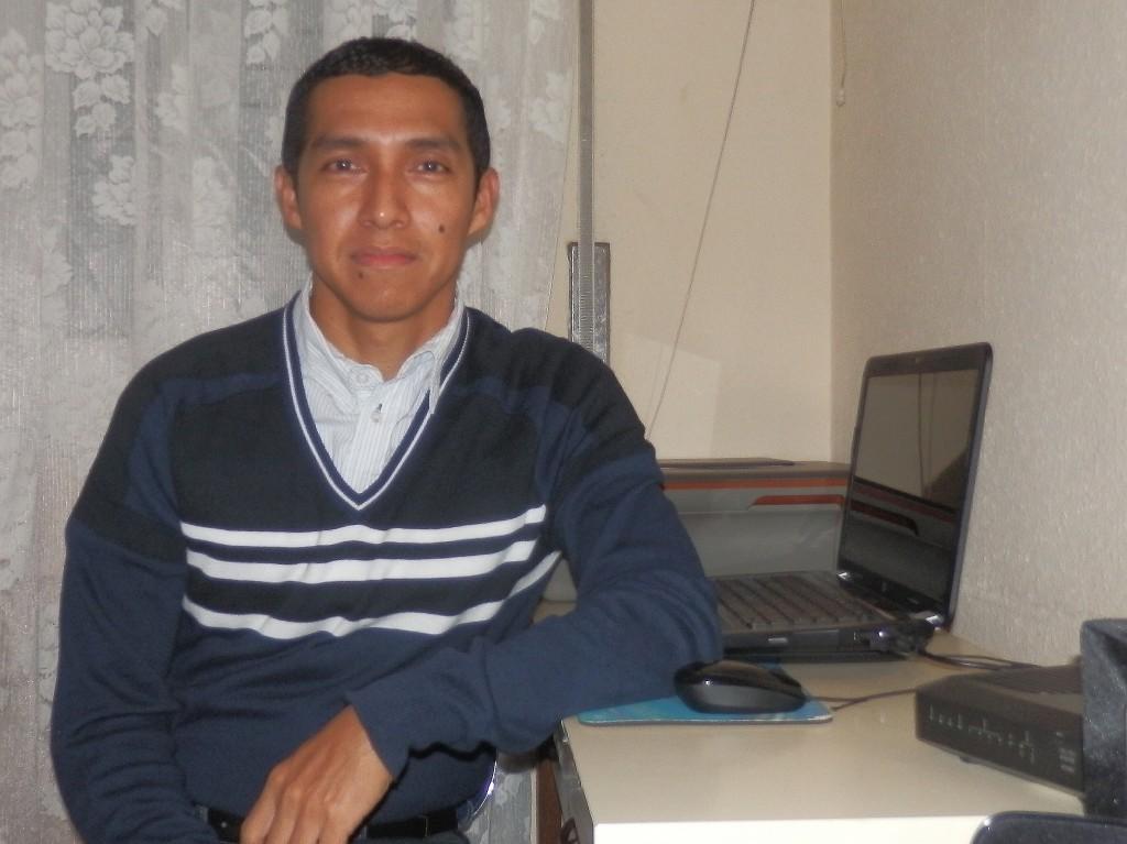Giovanny Llanga, participante y voluntario empleo CR La Rioja