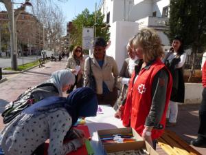 Orientadoras y participantes del Programa Sara en Castellón
