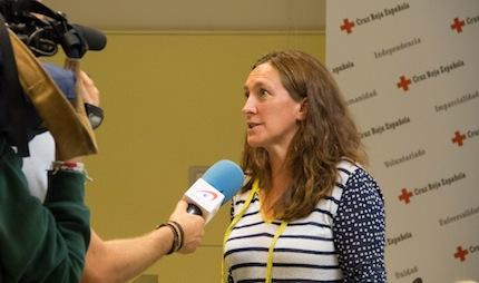 Maika Sánchez, Directora del Plan de Empleo de Cruz Roja